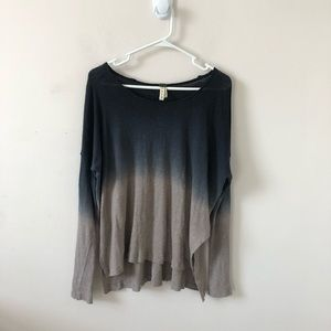 Free People Starry Night Linen Blend Top- Size S